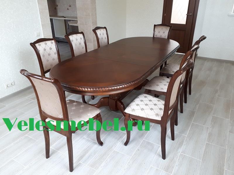 Обеденная группа 4296 SWC+6 стульев GENEVA
